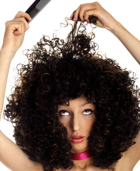 סלסול לתוספת שיער