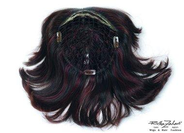 תוספת לשיער דליל