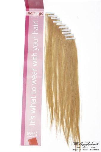 תוספת  לשיער במדבקה
