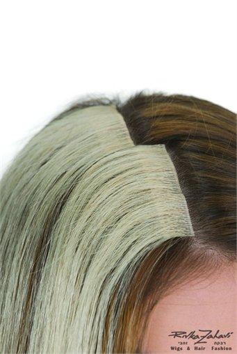 תוספות  לשיער במדבקה