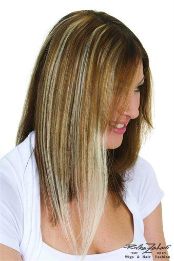 תוספות שיער מדבקה