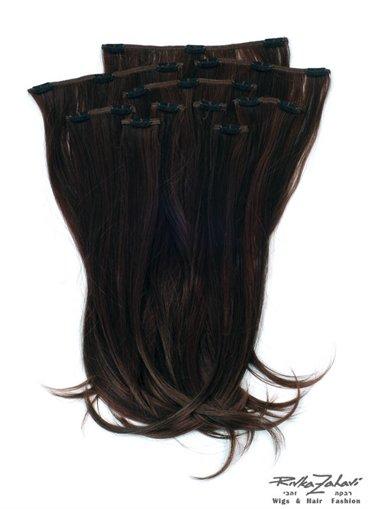תוספות קליפס לשיער