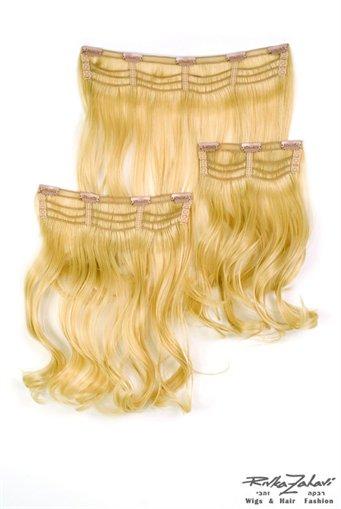 תוספות  שיער בקליפס