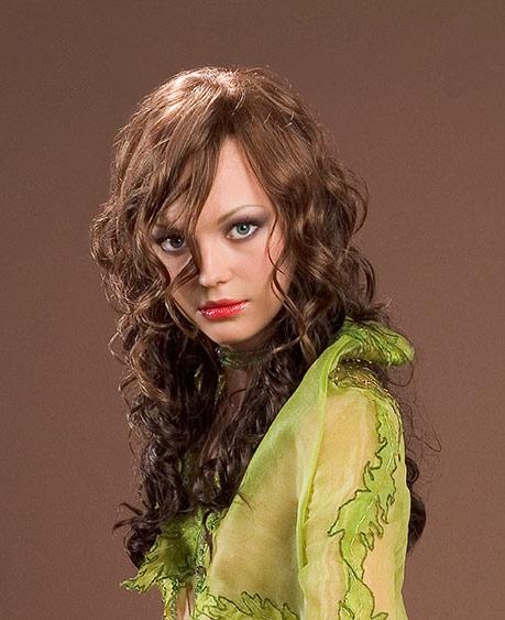 סלסול לשיער ארוך