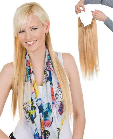 תוספת חצאית לשיער -קשת הקסמים